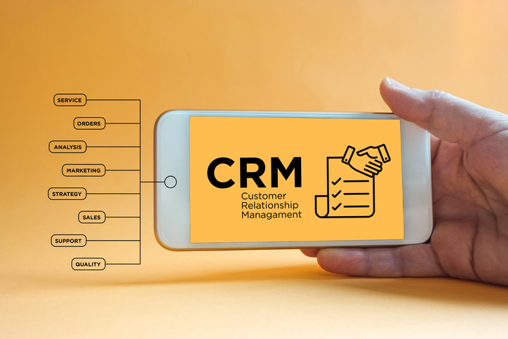 CRM integration with website